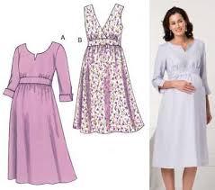 Maternity Patterns Adorable Kwik Sew Maternity Empire Dress Pattern Discount Designer Fabric