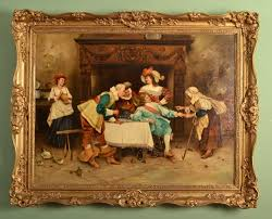 so this is a quick overview of how to go about identifying diffe aspects of antique oil paintings