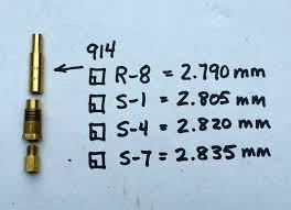 Mikuni Emulsion Tube Chart Mikuni Needle Comparison Page 2