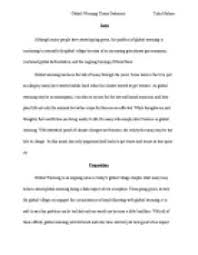 linkers for argumentative essays on global warming formatting  essay on global warming for children and students