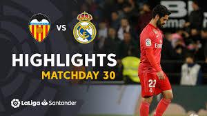 Highlights Valencia CF vs Real Madrid (2-1) - YouTube
