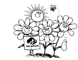 Small Picture Girl Scouts Coloring Pages