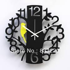 superb designer wall clock  contemporary glass wall clocks uk