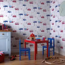 Little Boys Bedroom Wallpaper Buy The Blue And Red Motor Mania Wallpaper By Arthouse At The