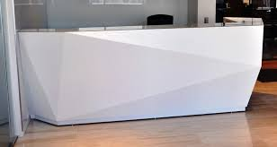 stunning modern white reception desk reception desks ada compliant arnold contract ardesk l