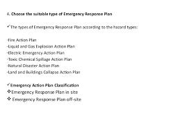Osha Emergency Response Plan