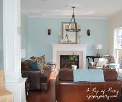 Modern Cottage Living Room Living Room Makeover Woodlawn Blue Creamy White Updated Pics