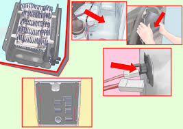 how to change the heating element in a dryer steps