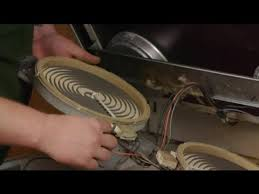 how to replace elements on glass top electric ranges electrical repairs