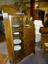antique oak side side secretary desk skipsantiqueoak on intended for oak office bookcase oak bookcases a great item to add to your office
