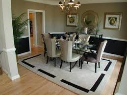 Modern Dining Room Color Ideas With Chair Rail 8165Modern Looking Chair Rail