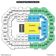 raising cane s river center arena concert seating chart raising cane s river center arena concert seating chart