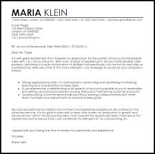 Cover Letter Accounting Clerk Cover Letter For Accounts Receivable Rome Fontanacountryinn Com