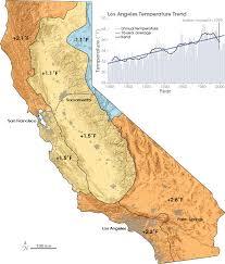 California Annual Rainfall Chart California Temperatures On The Rise
