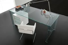 nervi glass office desk. impressive glass home office desk tables within nervi