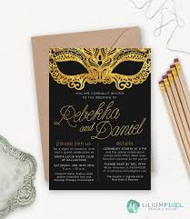 Masquerade Wedding Invites Masquerade Invitation Masquerade Wedding Invitation Printable