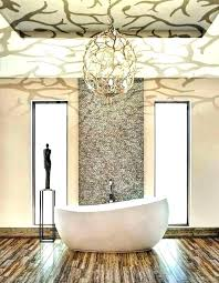 bathroom chandelier