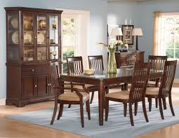 Homelegance Laurel Height China Cabinet Cherry C At - Dining room table and china cabinet