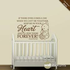 winnie the pooh wall art nursery stickers web art gallery wall decal quotes for nursery on vinyl wall art quotes for nursery with sofa ideas wall decal quotes for nursery best home design