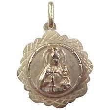 vintage 18k gold religious st barbaba medallion charm pendant arnold jewelers ruby lane