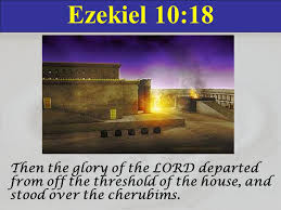 Image result for ezekiel sees the cherubims come to life in the temple