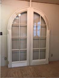 arched top custom doube french door unit