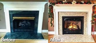 cost to install gas fireplace insert what does it cost to install a gas fireplace insert
