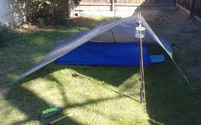 here is some info on how to make your own bathtub floor to integrate with your tarp set up for tarp camping or wver this is a decent 20 answer to the