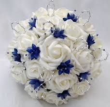 brilliant blue wedding bouquets 1000 ideas about blue wedding