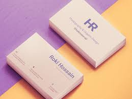 Free Personal Cards Personal Business Card Mockuplove