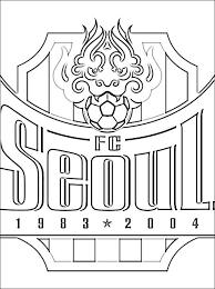 Small Picture korea coloring page south korean professional football club