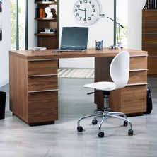 office desk walnut. madison office desk walnut