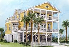 Piling Pier Stilt Houses Hurricane U0026 Coastal Home PlansElevated Home Plans