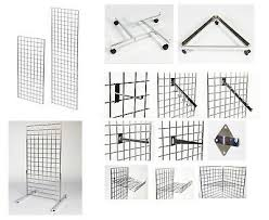 grid wall gridwall mesh panels hooks