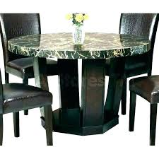 granite round dining table top set 48
