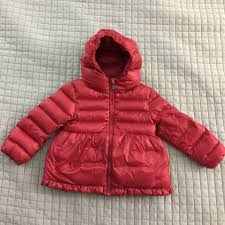 Like new Moncler Baby Girl Puffer Jacket