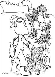 Small Picture Big bad wolf falls in fire coloring pages Hellokidscom