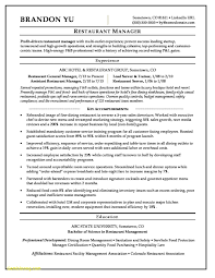 Kitchen Manager Resume Example Download Foh Manager Resume Examples