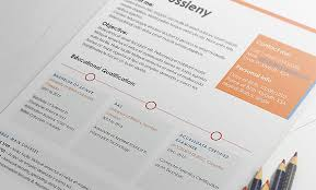 Caren Two Page Resume Template Resumes Mag