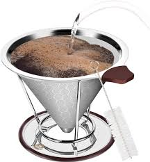 A heavenly cup of caffeine. Pour Over Coffee Station Freestanding Drip Cone Brewer And Stand For Sale Online Ebay