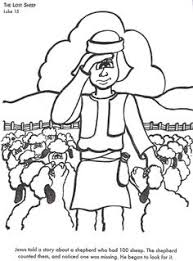 Small Picture Parable of the Lost Sheep Magnetic Board Visuals Parable Posters