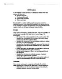 swot analysis for hewden plant hire university biological  page 1 zoom in
