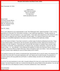 architect cover letter samples architecture cover letter apa example