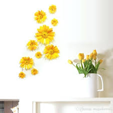 rustic flower wall decor stereo daisy flowers wall decor living room bedroom art mural rustic sunflower
