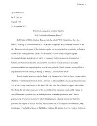 example of rhetorical essay rhetorical analysis essay format  example