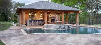 Backyard Designs With Pool And Outdoor Kitchen Mesmerizing 48 Of The Most Gorgeous Pool Houses We've Ever Seen Pool Houses
