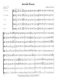 dorian essay by del borgo e j w pepper sheet music