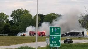 Update At Least One Dead After Semi Truck Crash On I 80