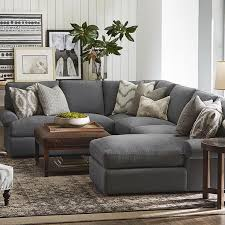 small u shaped couch u shaped sofa design fortable gray chairs with pillows table and carp
