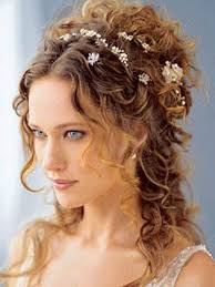 Updos For Curly Hair Cheveux Coiffure Mariage Mariage